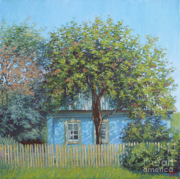 Russian Impressionism Wall Art - Painting - Old Garden by Tatiana Gracheva