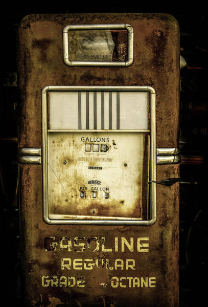 Wall Art - Photograph - Old Gas Pump by Marilyn Hunt