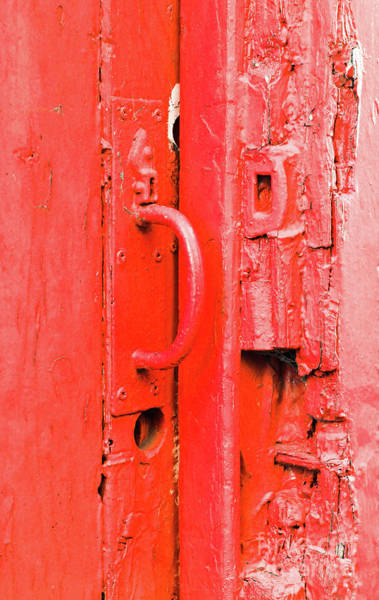Wall Art - Photograph - Old Gate Handle  by Tom Gowanlock