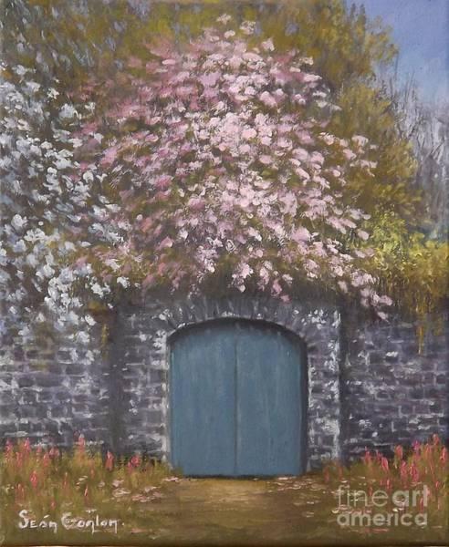 Gateway Arch Painting - Old Gateway Portarlington by Sean Conlon