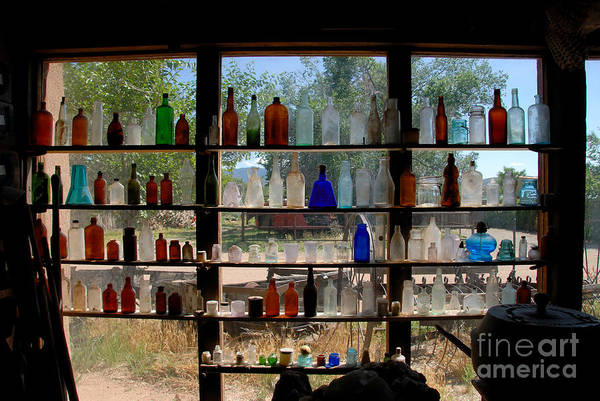 Antic Photograph - Old Glass by David Lee Thompson
