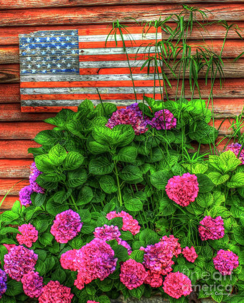 Photograph - Old Glory 3 American Flag Art by Reid Callaway