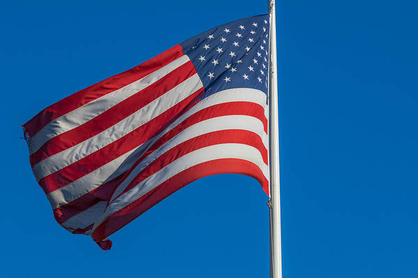 Photograph - Old Glory by Brian MacLean