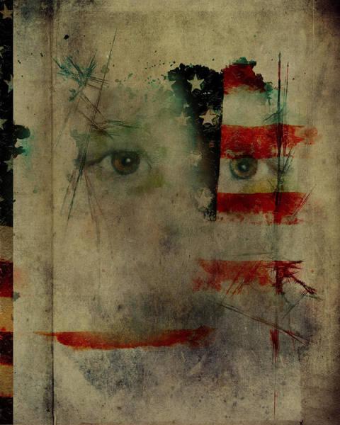 Digital Art - Old Glory by Christina VanGinkel