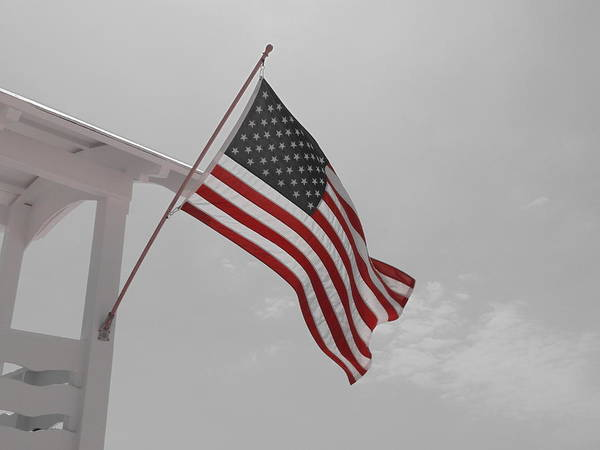 Photograph - Old Glory by Richard Parks