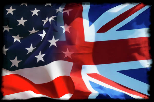 Wall Art - Digital Art - Old Glory Union Jack by Daniel Hagerman