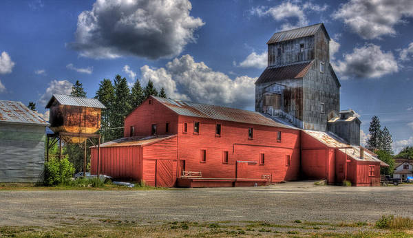 Photograph - Old Grain Elevator Sandpoint by Lee Santa
