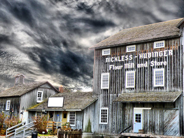 Photograph - Old Grain Mill by Scott Hovind