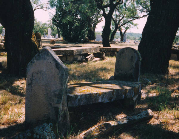 Cementery Photograph - Old Grave  by Cindy New