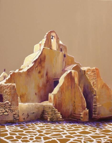 Greek Mixed Media - Old Greek Church by Carol McCarty