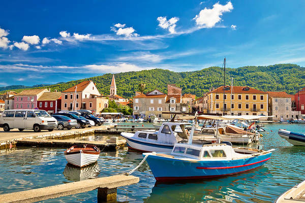 Starigrad Photograph - Old Harbor Of Stari Grad by Brch Photography