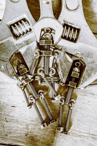 Sci-fi Photograph - Old Hardware Upgrade by Jorgo Photography - Wall Art Gallery
