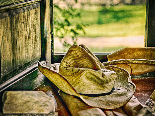 Photograph - Old Hat by Charles McKelroy