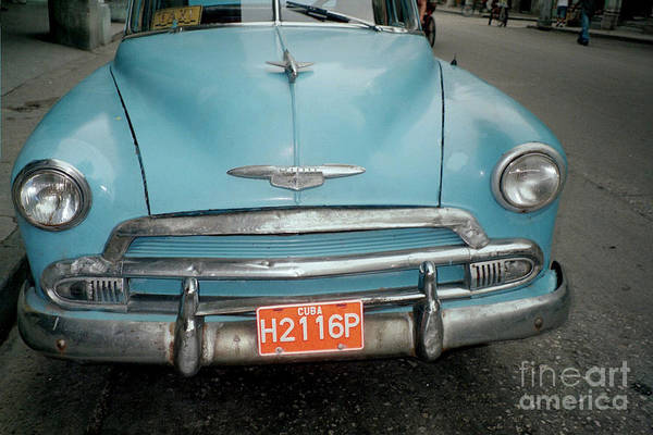 Photograph - Old Havana Cab by Quin Sweetman