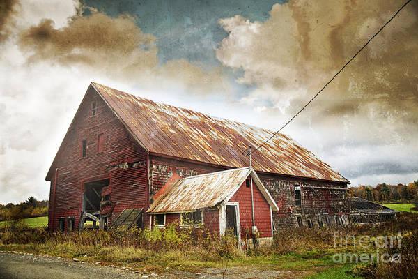 Photograph - Old Hay Barn by Alana Ranney