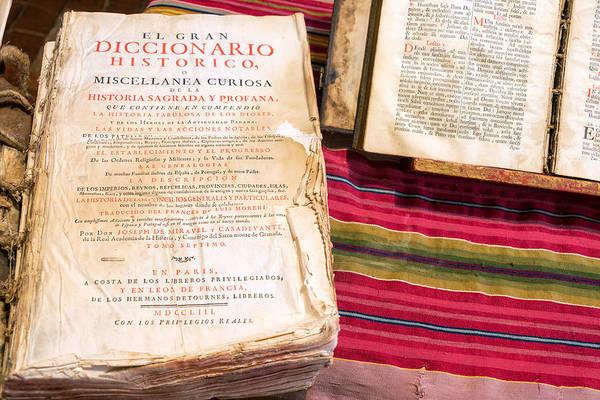 Old Historic Dictionary Art Print