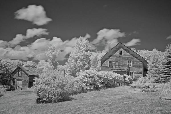 Wall Art - Photograph - Old Homestead 6225 by Michael Peychich