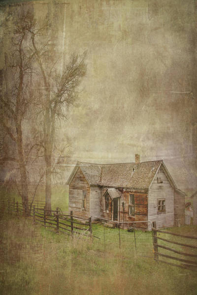 Digital Art - Old Homestead by Ramona Murdock