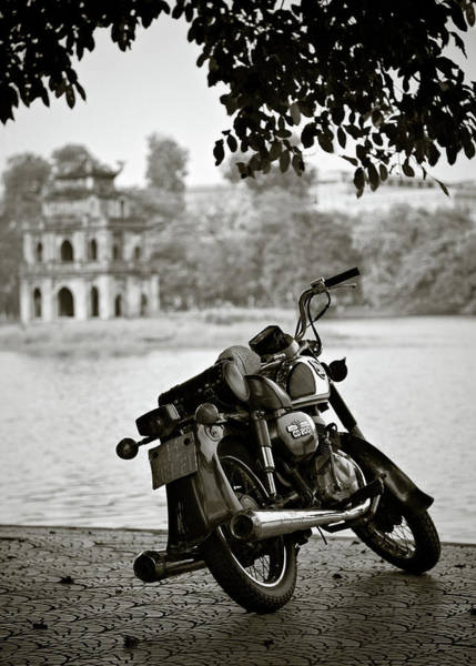 Photograph - Old Honda In Hanoi by Dave Bowman