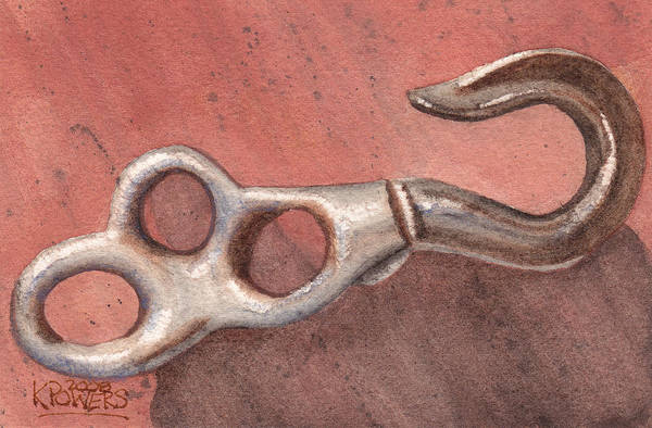 Painting - Old Hook by Ken Powers