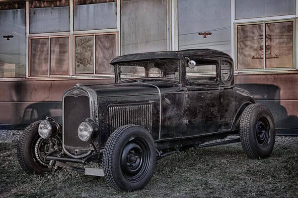 Modified Photograph - Old Hot Rod by Joachim G Pinkawa