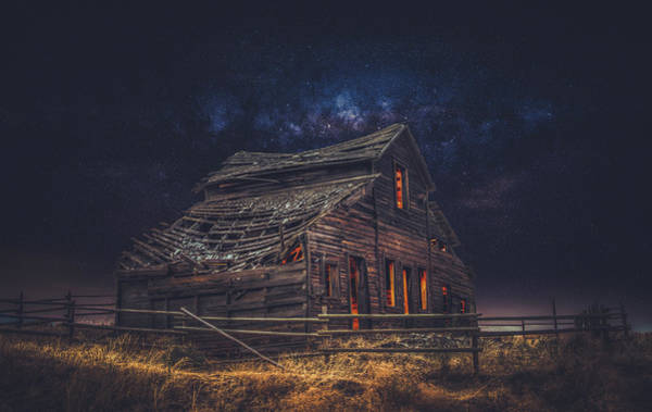 Oliver Photograph - Old House by Alexander Hill