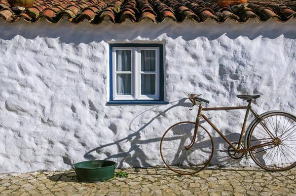 Wall Art - Photograph - Old House And Bicycle by Carlos Caetano