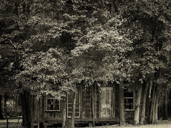 Photograph - Old House by Charles McKelroy