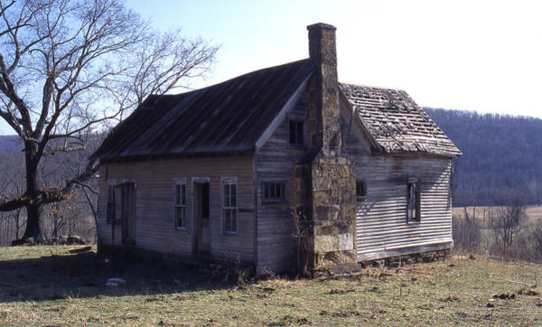 Photograph - Old House by Curtis J Neeley Jr