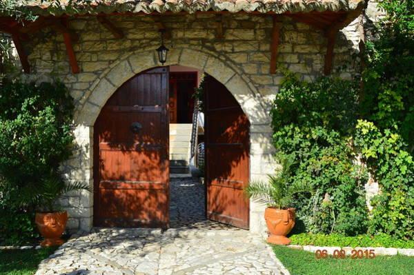Photograph - Old House Door by Nuri Osmani