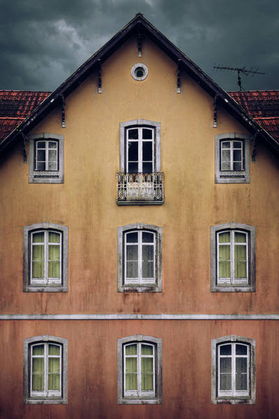 Wall Art - Photograph - Old House Facade by Carlos Caetano