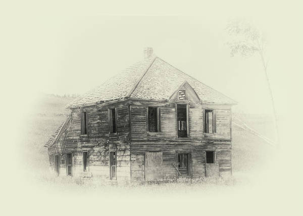 Photograph - Old House Near Bodie by Doug Matthews