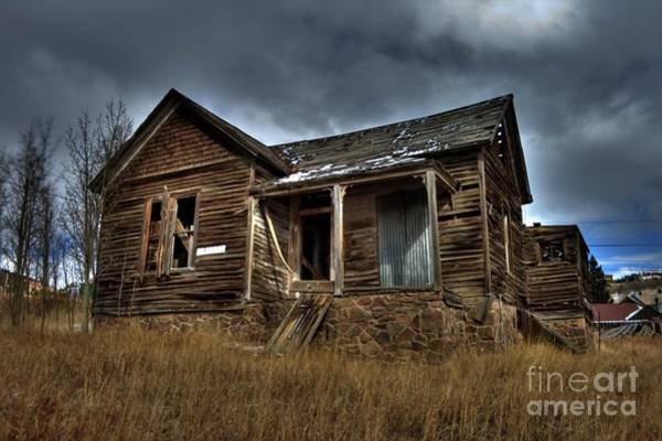 Photograph - Old And Forgotten by Tony Baca