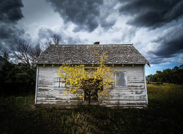 Photograph - Old House by Wesley Aston