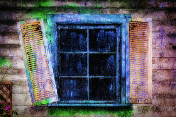 Wall Art - Photograph - Old Huanted House Window by Garry Gay