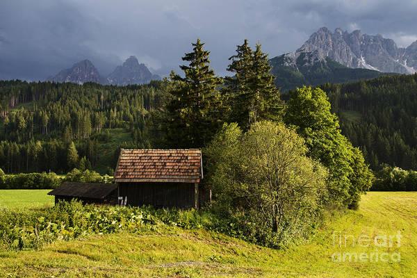 Wall Art - Photograph - Old Hut In Austria by Yuri San