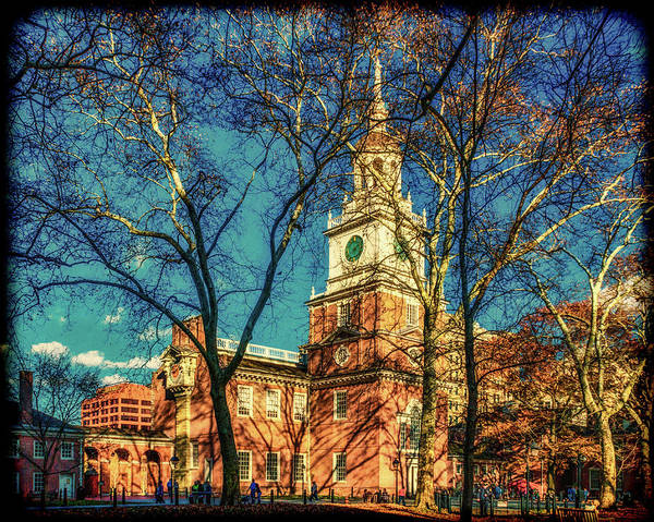 Photograph - Old Independence Hall by Nick Zelinsky