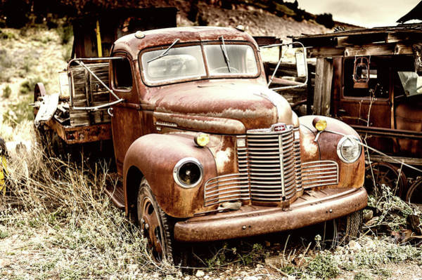 Photograph - Old International Truck by M G Whittingham