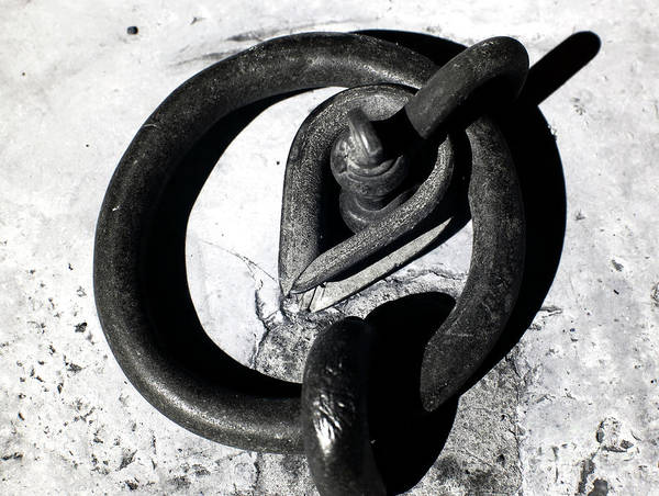 Photograph - Old Iron Ring by John Rizzuto