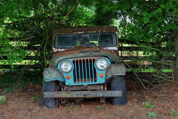 Photograph - Fx70v35 Old Jeep by Ohio Stock Photography