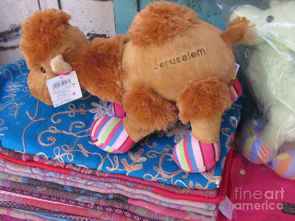 Photograph - Old Jerusalem Market Product by Donna L Munro