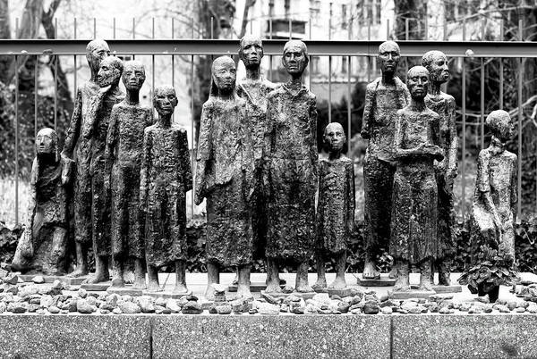 Wall Art - Photograph - Old Jewish Cemetery Holocaust Memorial In Berlin by John Rizzuto