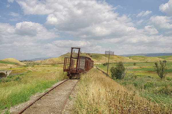 Photograph - Jezre'el Valley Old Railway Station by Uri Baruch