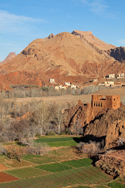 Photograph - Old Kasbah Ruins, Dades Gorges by Aivar Mikko