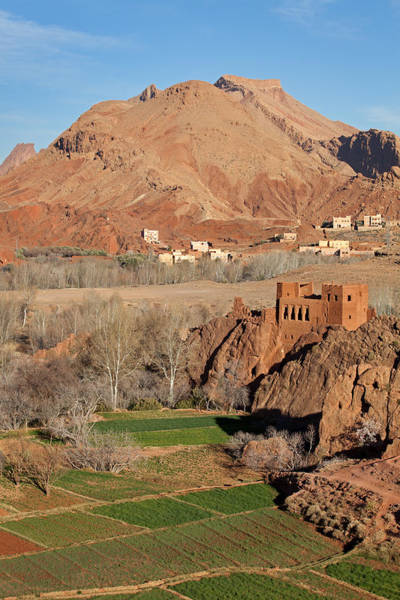 Photograph - Old Kasbah Remainings, Dades Valley by Aivar Mikko