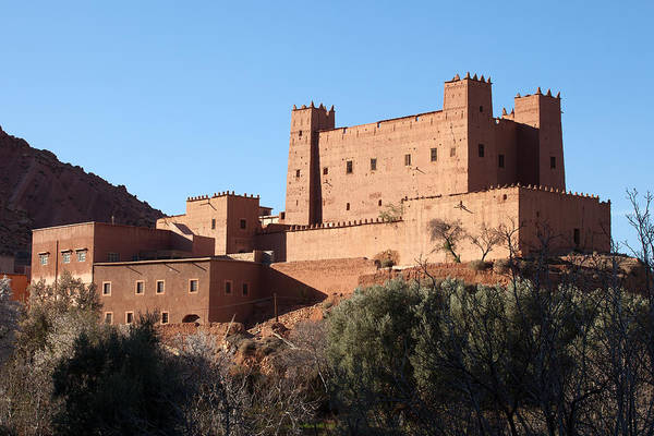 Photograph - Old Kasbah Ruins by Aivar Mikko