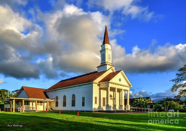 Photograph - Old Koloa Church 7 Sunrise Koloa Kauai Hawaii Art by Reid Callaway
