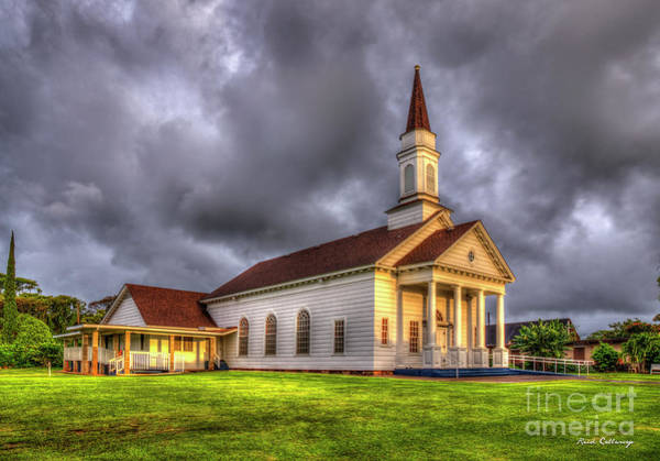 Photograph - The Light In Koloa The Church At Koloa Established In 1835 Kauai Collection Art by Reid Callaway