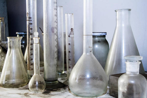 Photograph - Old Lab Equipment by SR Green