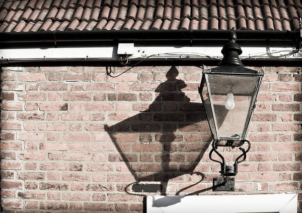 Gutter Photograph - Old Lamp by Tom Gowanlock